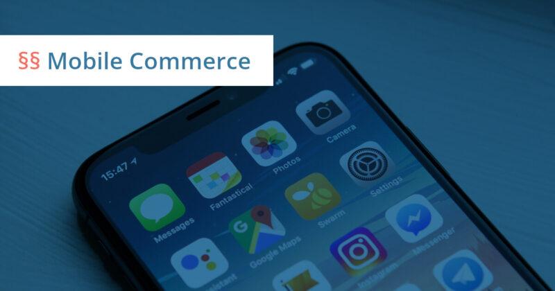 mobile ecommerce anwalt