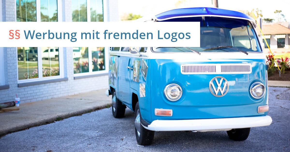 fremde logos auf eigener homepage
