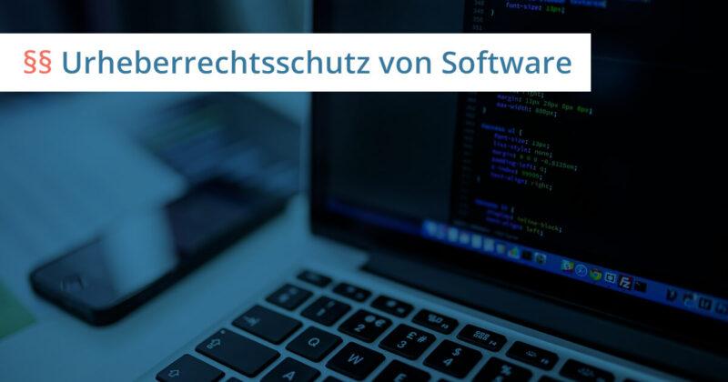 urheberrecht software