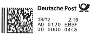 Postmatrixcode