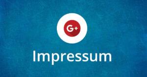 Google+ Impressum