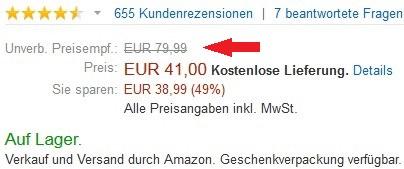 Amazon UVP