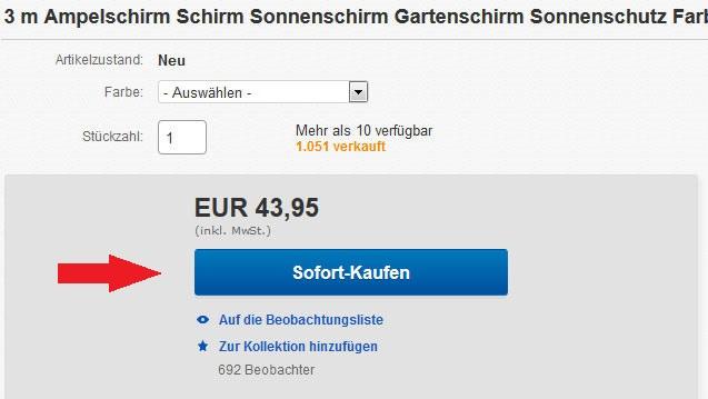 eBay Auktion