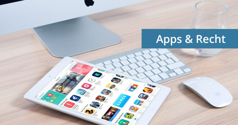 app entwicklung recht