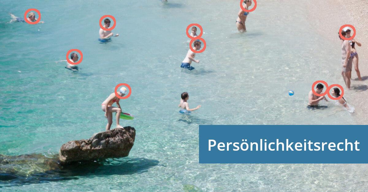 Persönlichkeitsrecht mitfotografiert