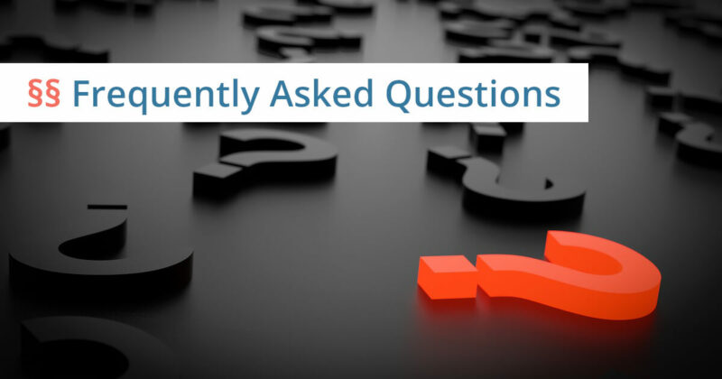 Recht Frequently asked Questions
