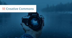 creative commons urheberrecht