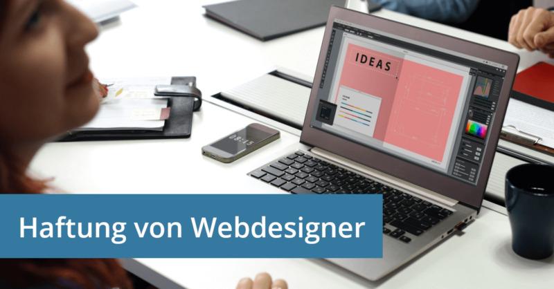 Webdesigner Haftung