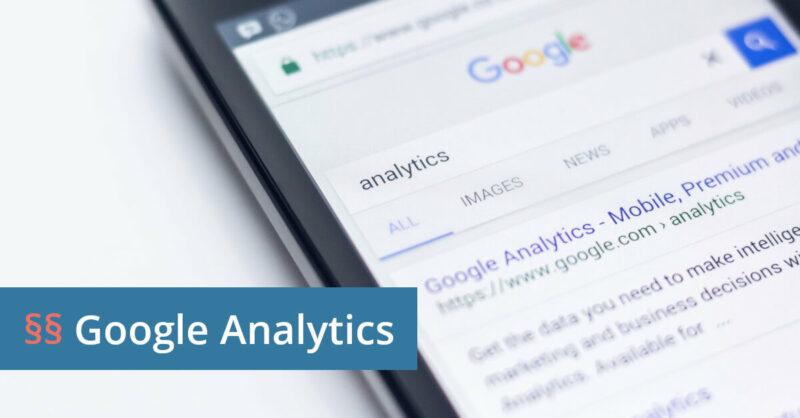 Google Analytics Abmahnung