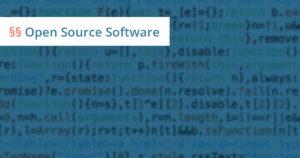 open source anwalt