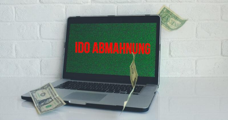 IDO Abmahnung