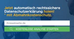 datenschutz generator dsgvo