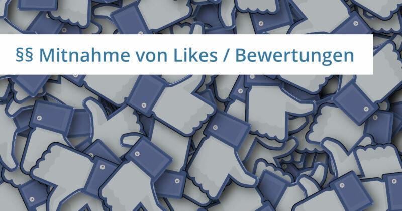 facebook recht anwalt