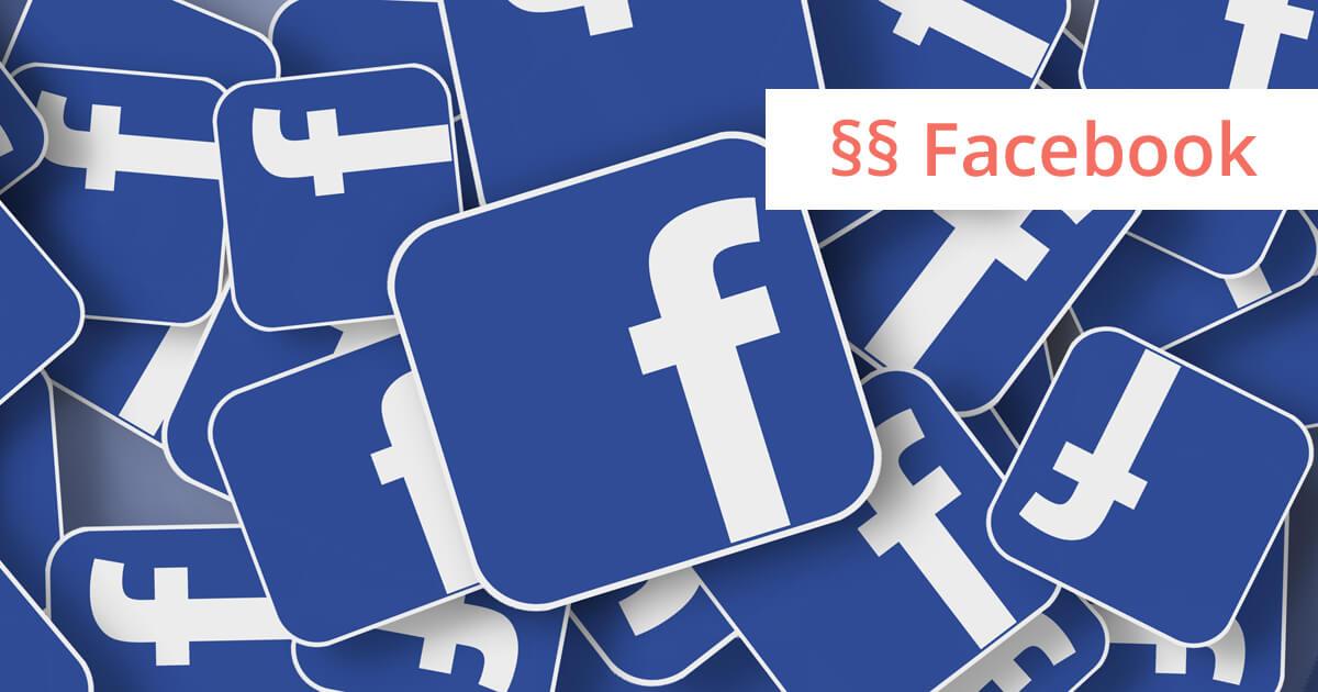 Facebook Kartellrecht