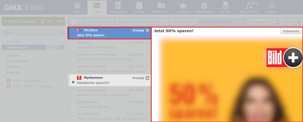 Inbox Ads Urteil