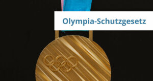 Olympia-Schutzgesetz Werbung