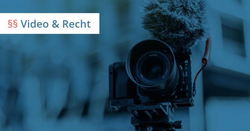 video recht