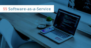 software as a service vertrag