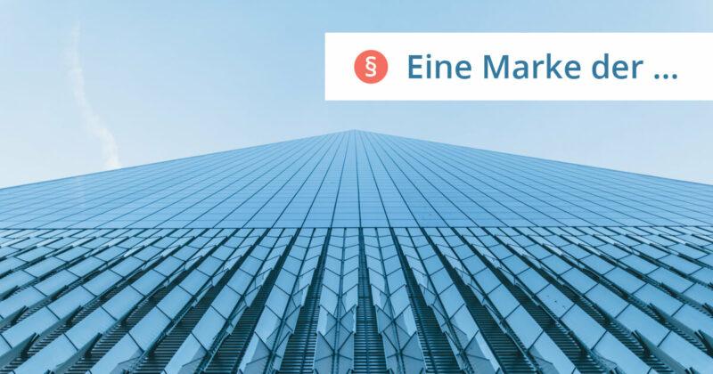 Eine Marke der GmbH
