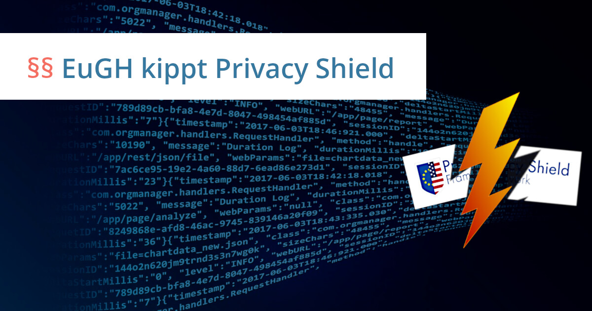 privacy shield urteil