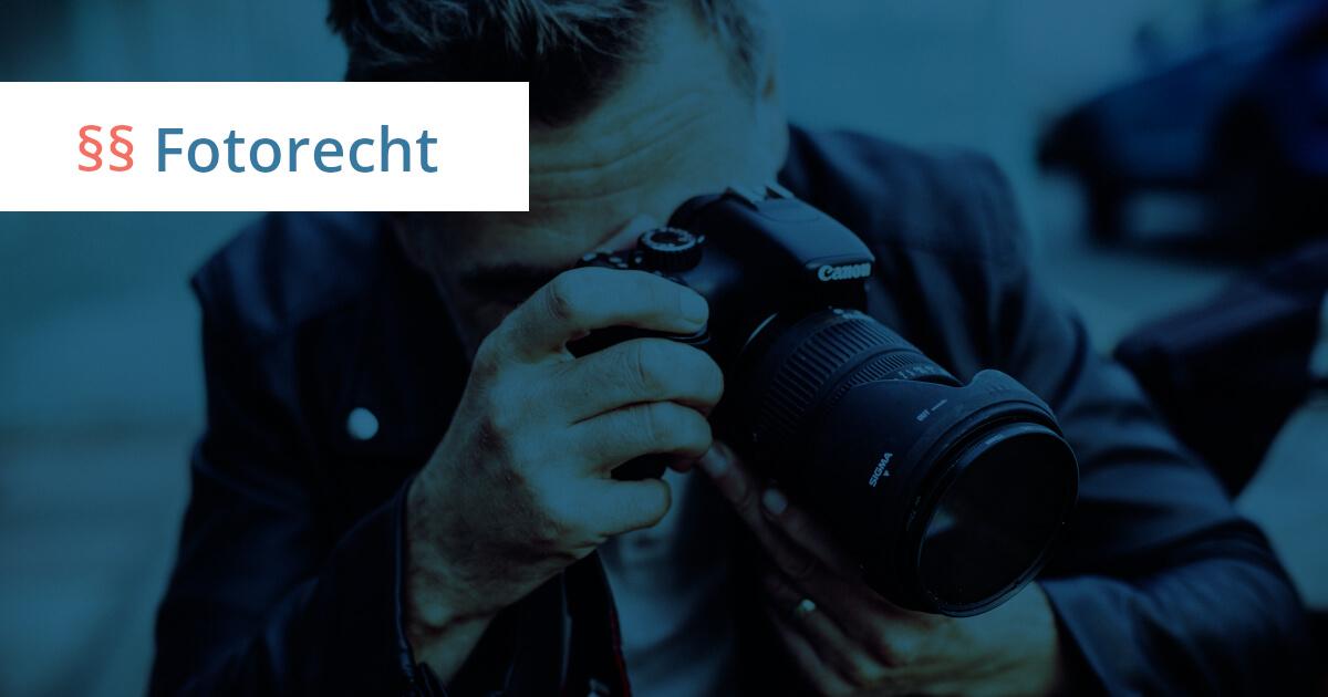 fotorecht für fotografen