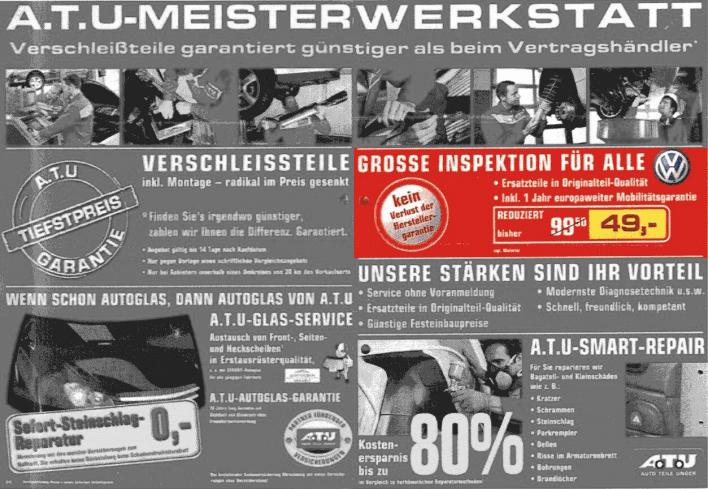 BGH, Urteil vom 14.04.2011, I ZR 33/10 - GROSSE INSPEKTION FÜR ALLE